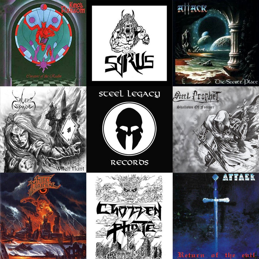 STEEL LEGACY RECORDS