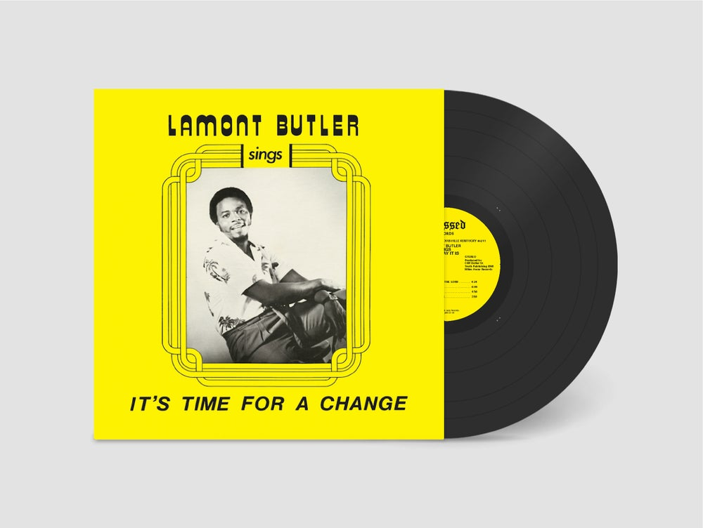 Image of Lamont Butler - It's Time For A Change LP