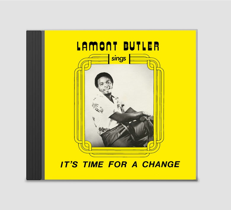 Image of Lamont Butler - It's Time For A Change CD
