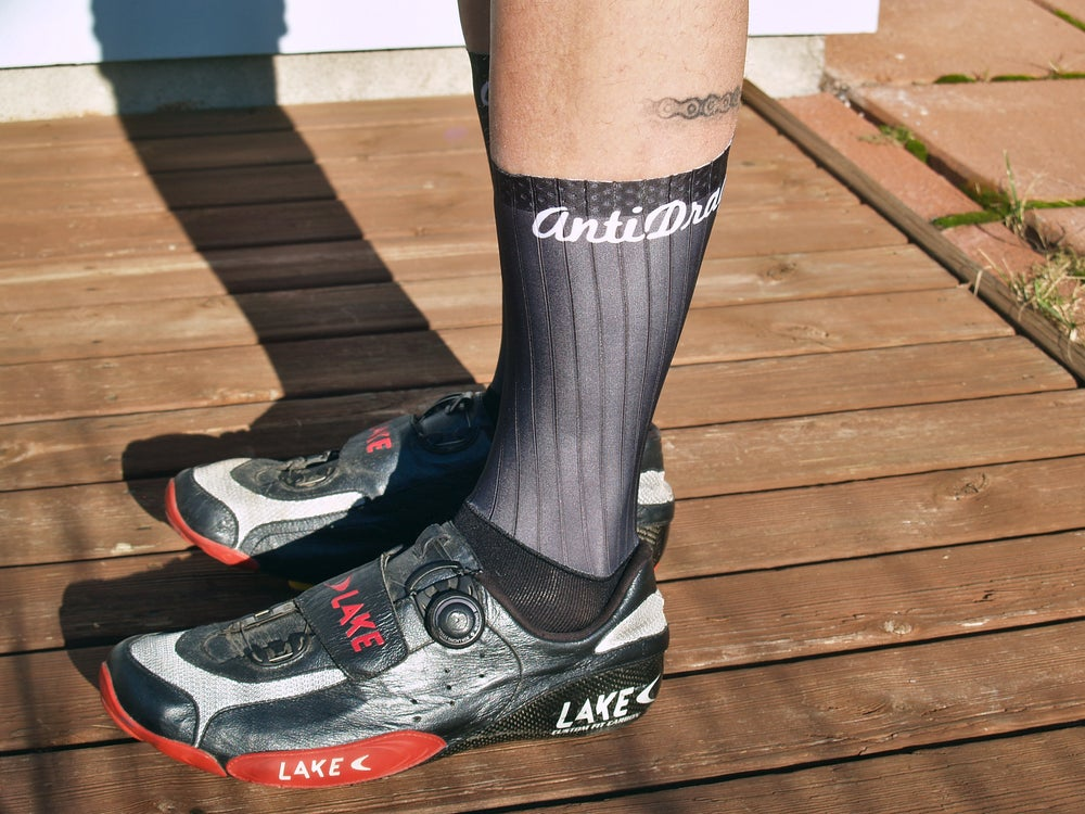 Image of The AERO Cycling Sock - Black