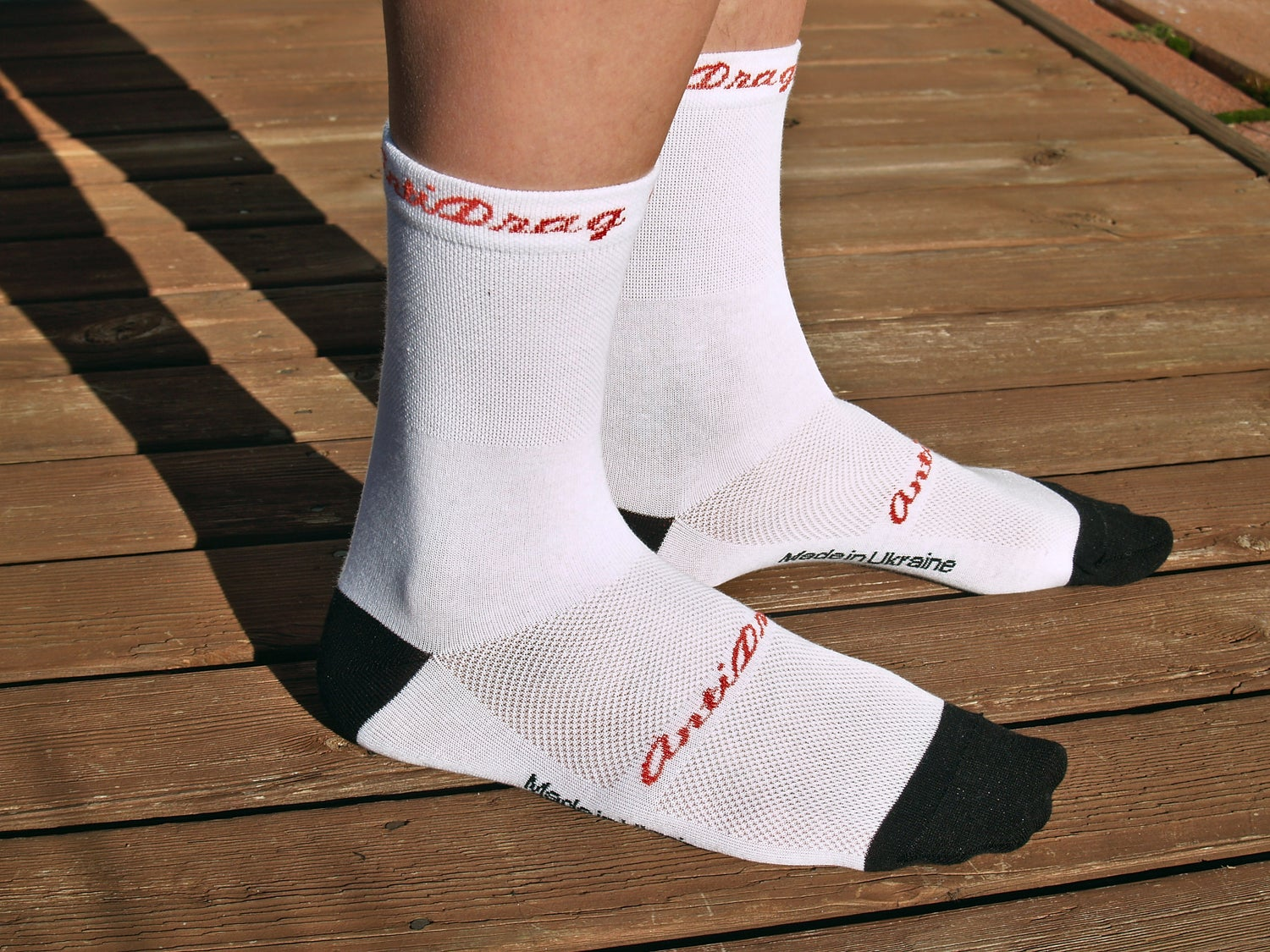 Image of 5 inch Classic Cycling Sock - White