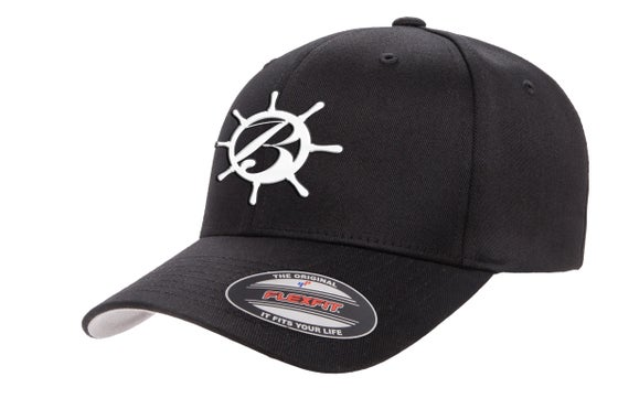 Image of Fitted BlackSails Hat - Black