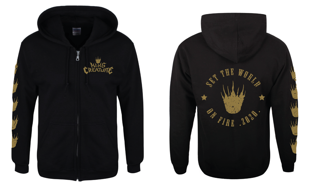 Image of SET THE WORLD ON FIRE HOODIE