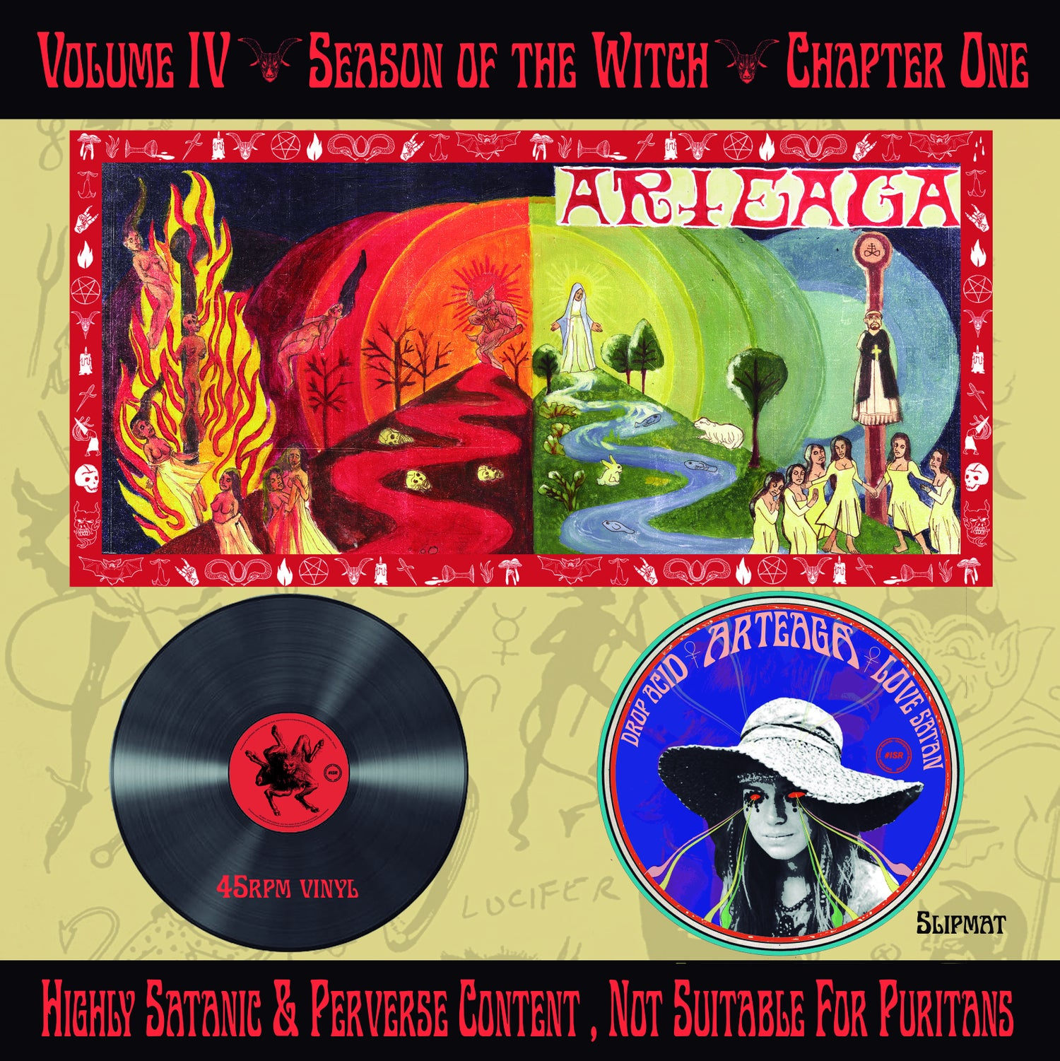 """Image of ARTEAGA """"VOL.IV SEASION OF THE WITCH. CHAPTER I"""" BLACK WITCH VINYL EDITION"""