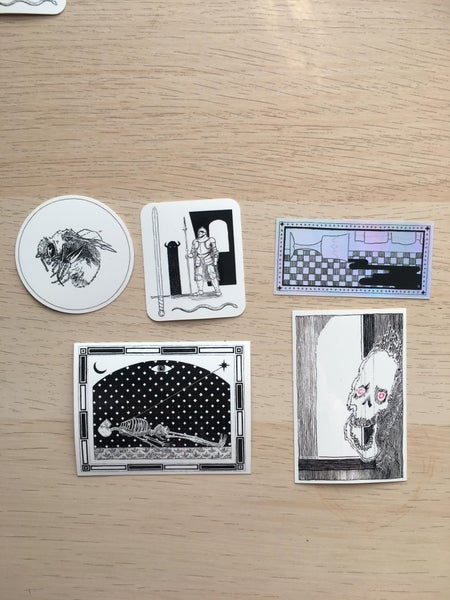 Image of 5 Pack Stickers