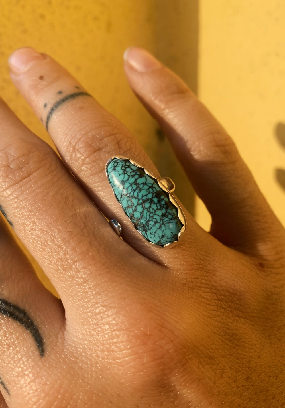 Image of Adjustable Turquoise Ring