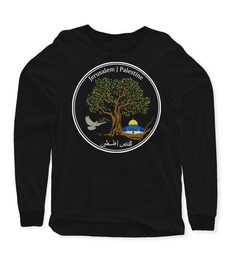 "Image of ""Jerusalem Olive Tree"" long sleeve"
