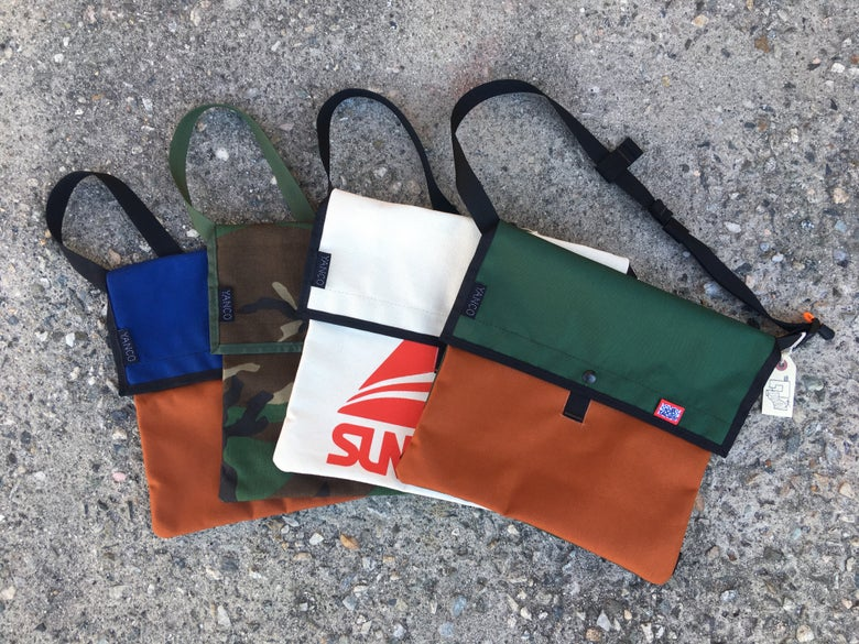 Image of Yanco & 100 Tacos Cycling Musette Bag