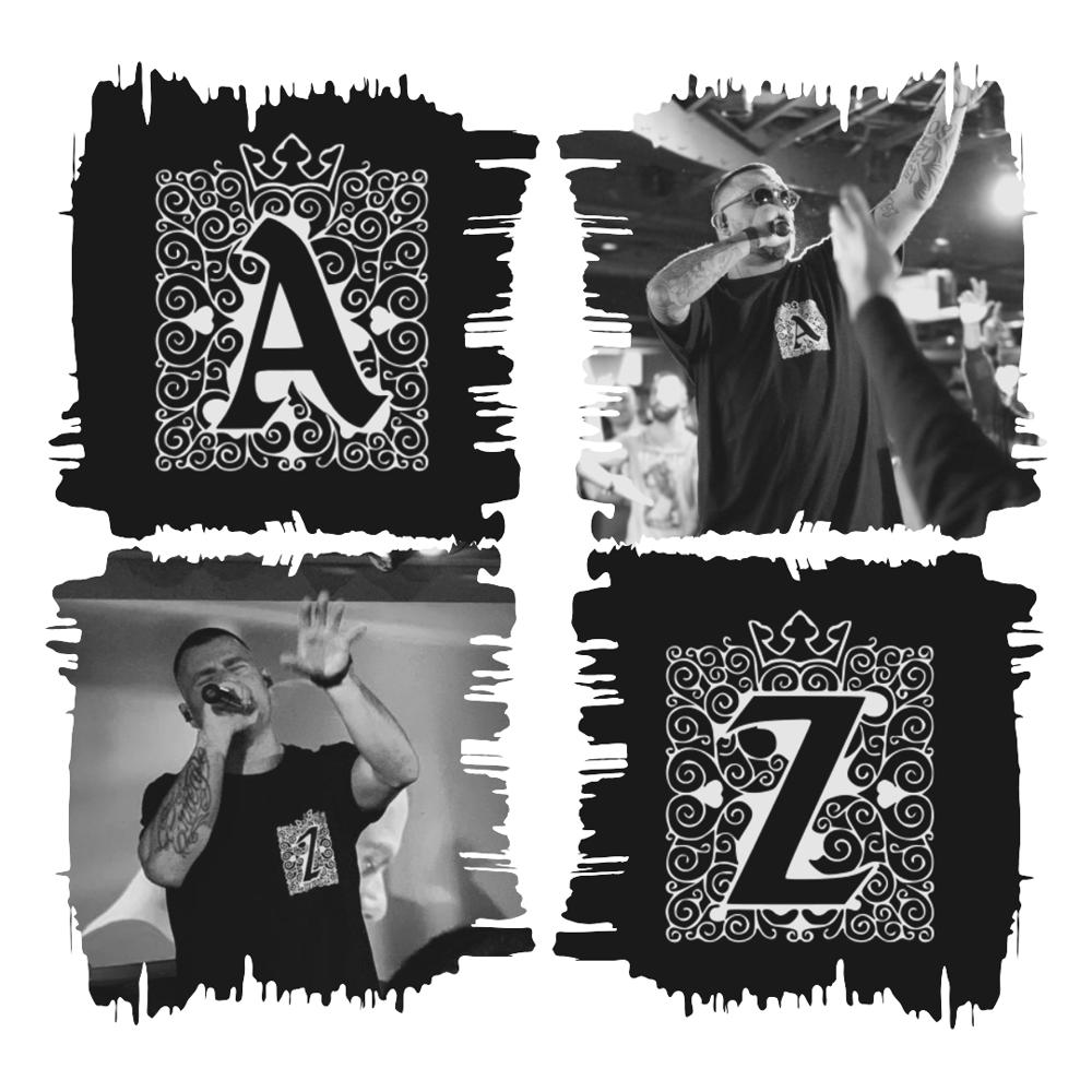 Image of Camiseta Negra A/Z