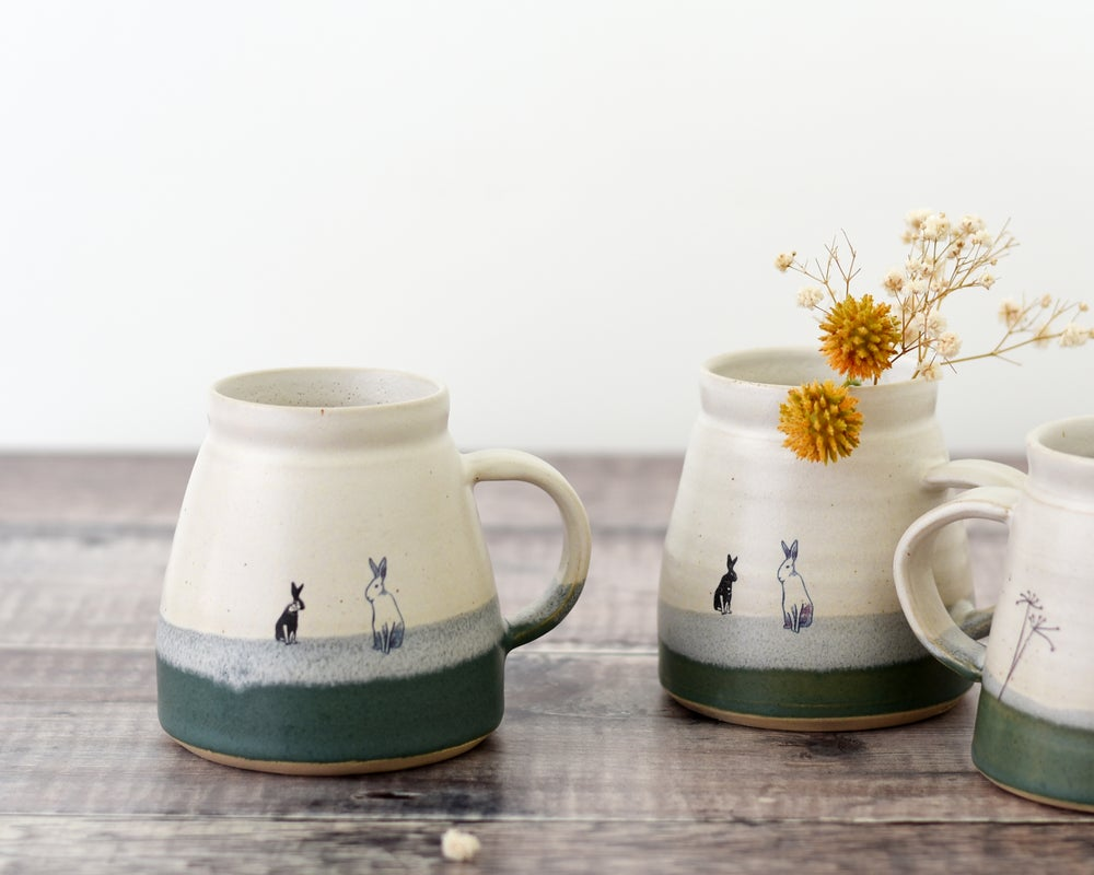 Image of Ceramic Hare/Rabbit Mug