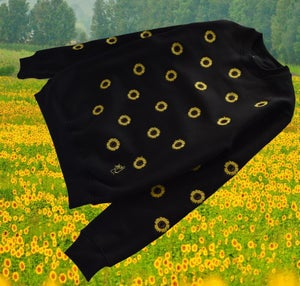 Image of All Over Sunflower Sweater