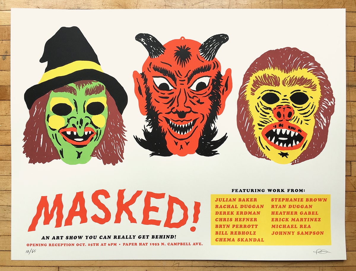 Image of Masked! Poster