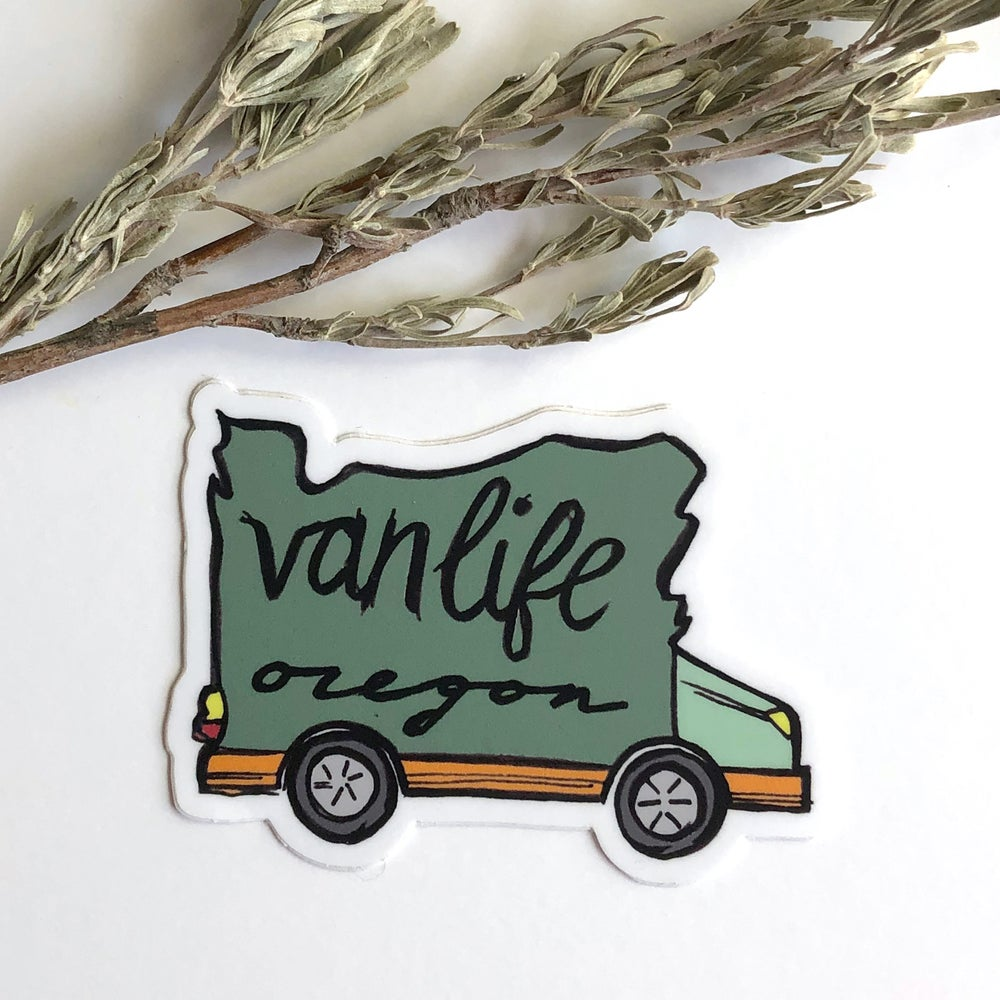 Image of Van Life Sticker 3""
