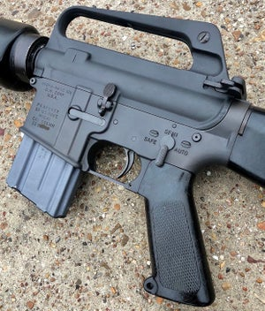 Image of 80% Stamped - GM M16A1 Lower - A1 Profile