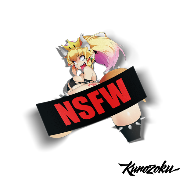 Image of NSFW Swimsuit Bowsette! (18+)