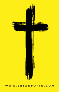 Image of Reppin' the Cross, STICKER