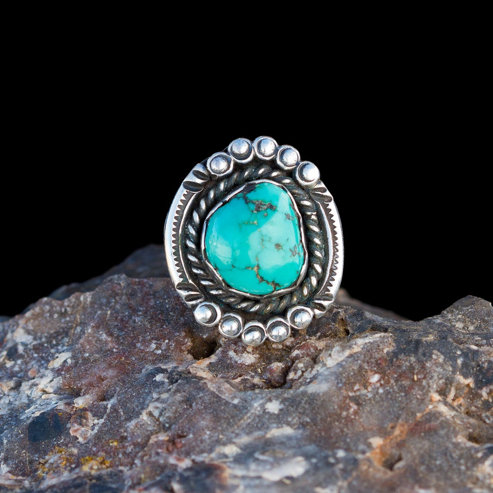 Image of Boldness Has Magic • Turquoise • Size 9