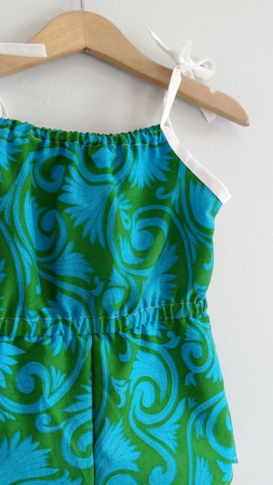 Image of OOAK Retro Playsuit - Palm Springs