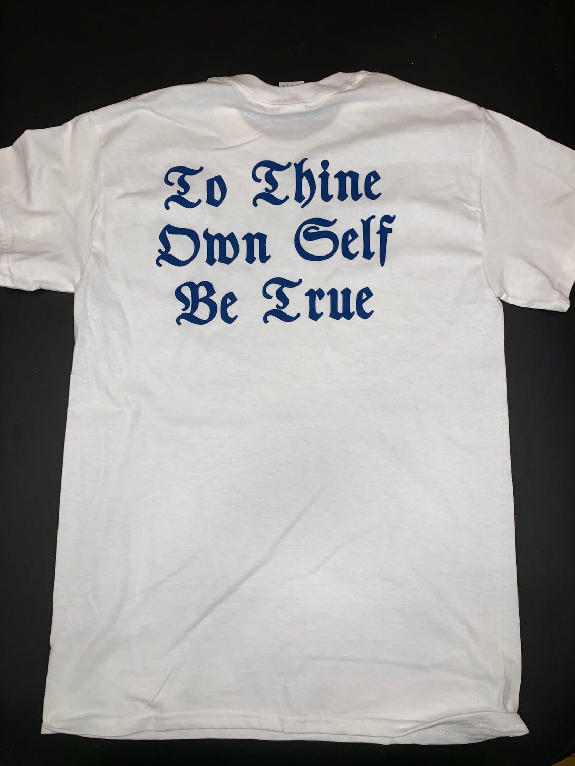 Image of To Thine Own Self Be True Blue