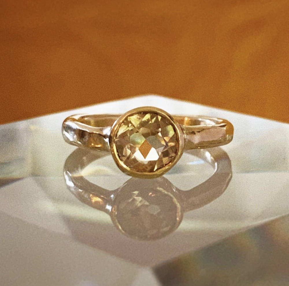 Image of Citrine Abundance Ring