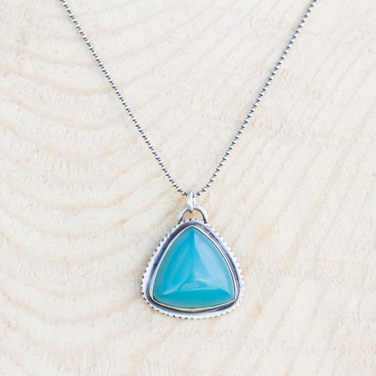 Image of True West Necklace • Chalcedony