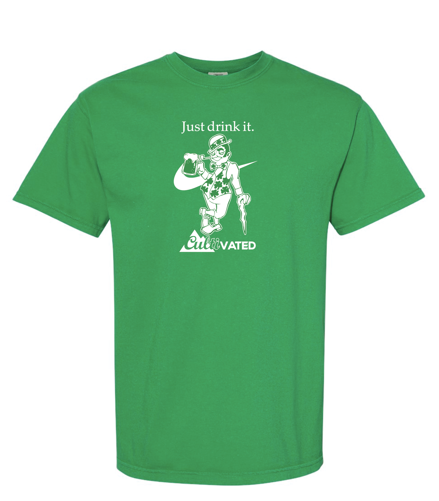 Image of Just Drink It! Limited 2020 St. Patrick's Day T-Shirt