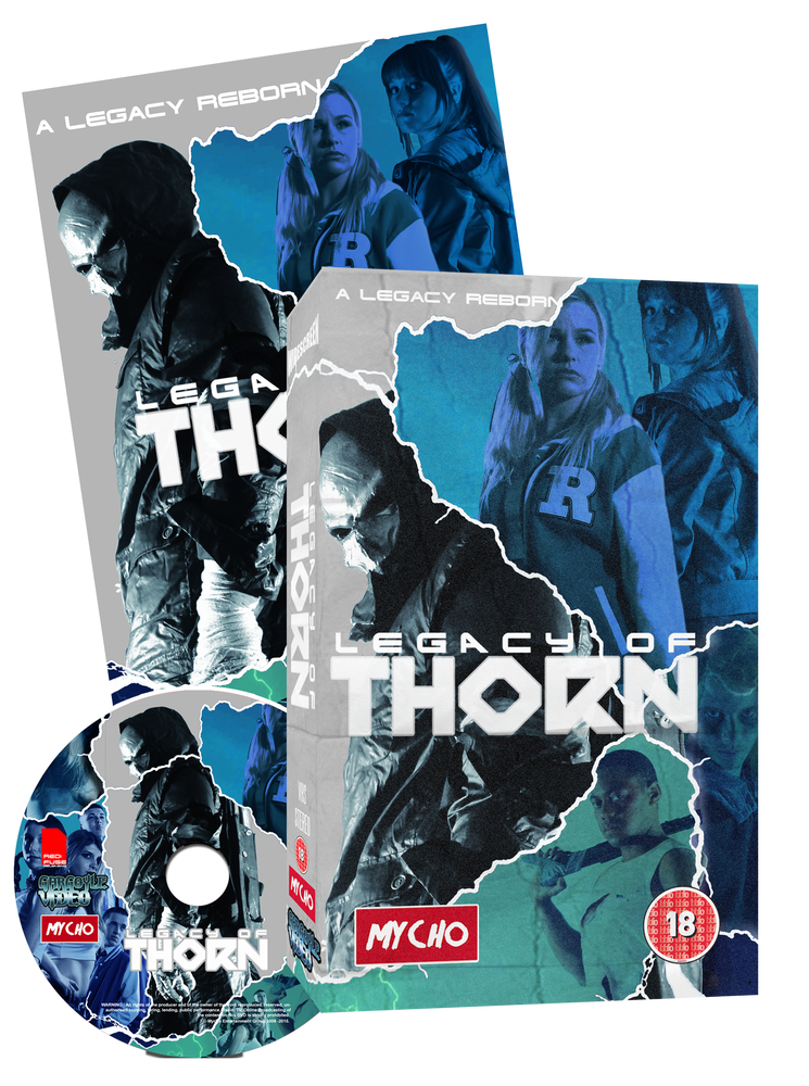 Image of LEGACY OF THORN - CHROME EDITION VHS