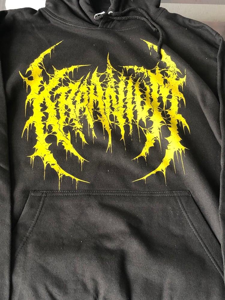 Image of KRAANIUM - Logo / Northern Slamming Brutality Hoodie