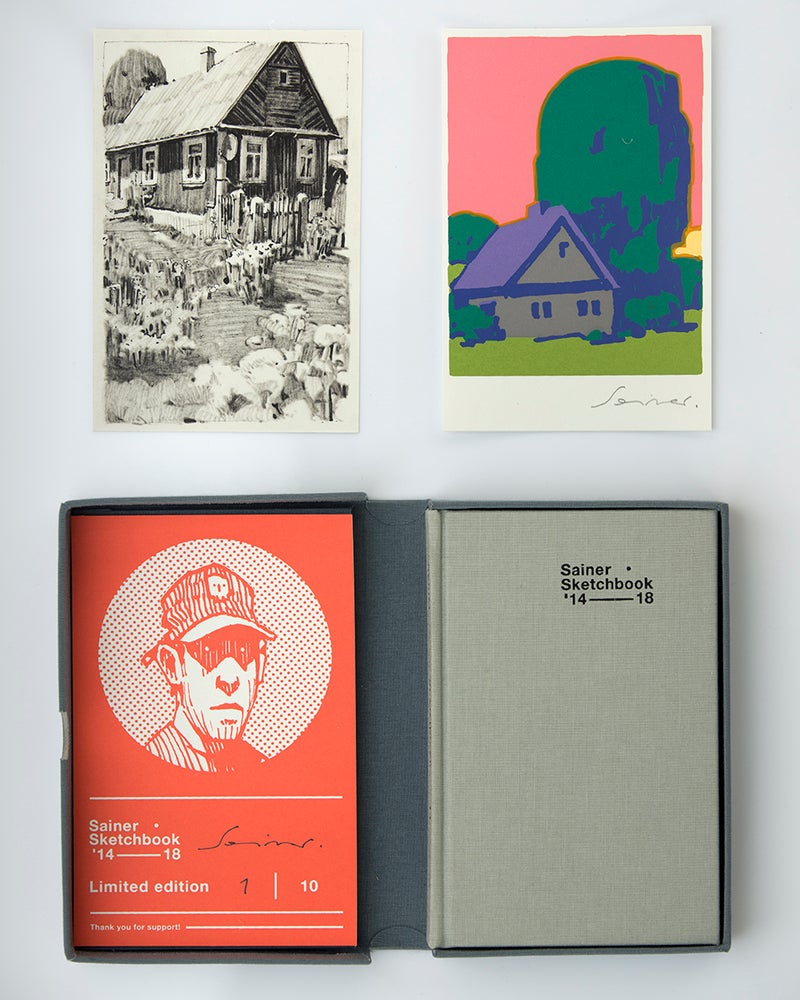 "Image of SAINER ""Sketchbook 14-18"" LIMITED EDITION"