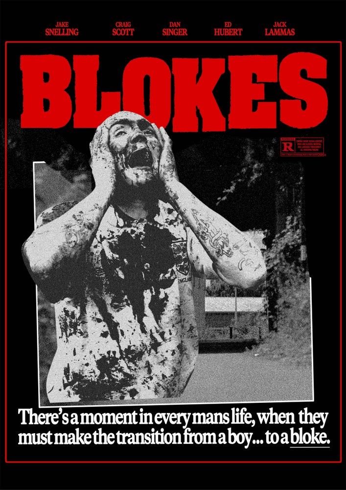Image of BLOKES POSTER 1