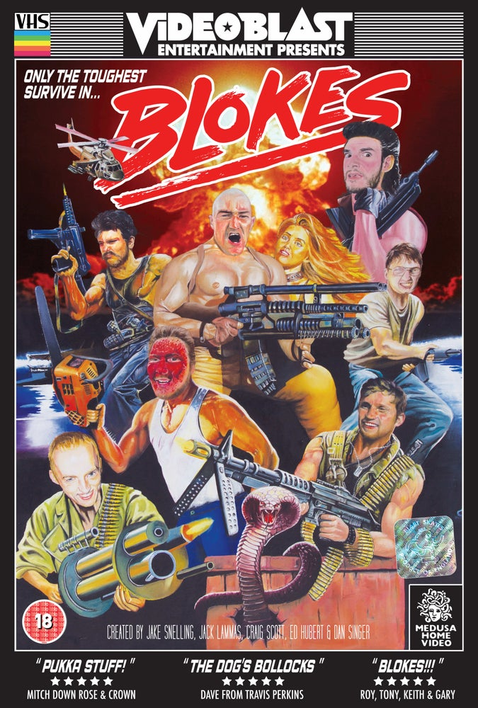 Image of BLOKES POSTER 2