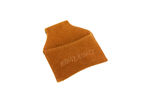 Image of Broski - Cue Chalk Holder Brown Suede