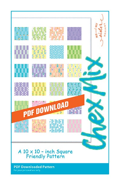 Image of Chex Mix Electronic PDF pattern