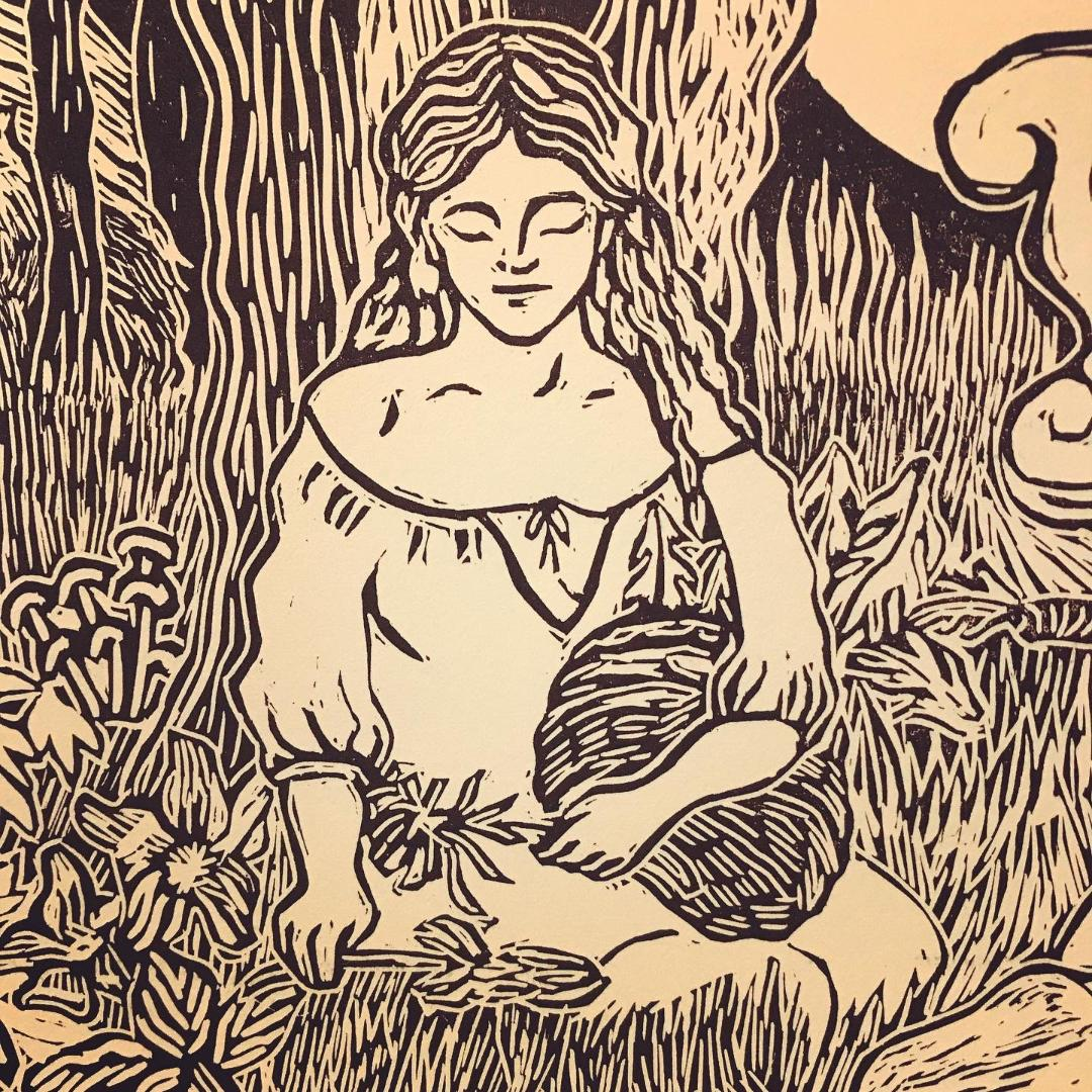 Image of Circe on her Island