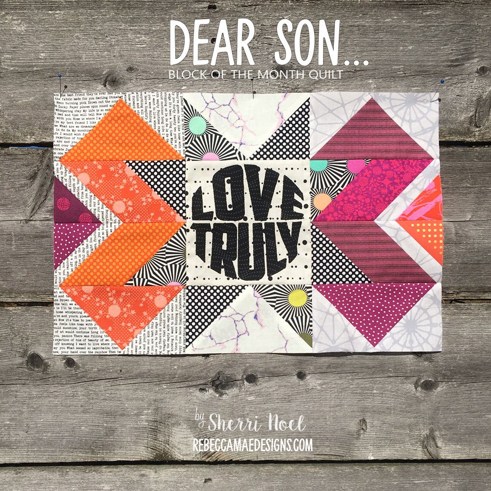 Image of Dear Son - PDF Block of the Month Quilt-a-Long 2020