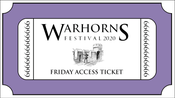 Image of Warhorns 2020 Friday Access Ticket