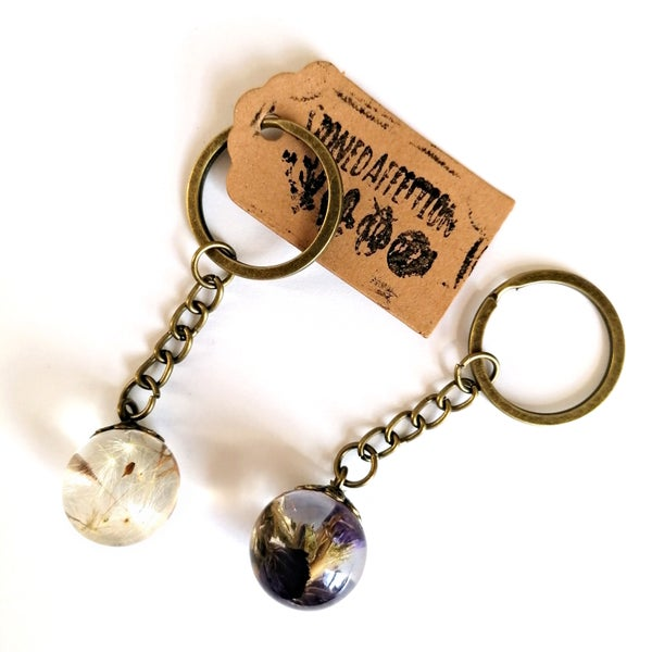 Image of Nature Droplet Bronze Keyring