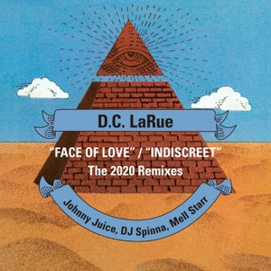 "Image of Face Of Love / Indiscreet [2020 Remixes] - 12"" Vinyl"