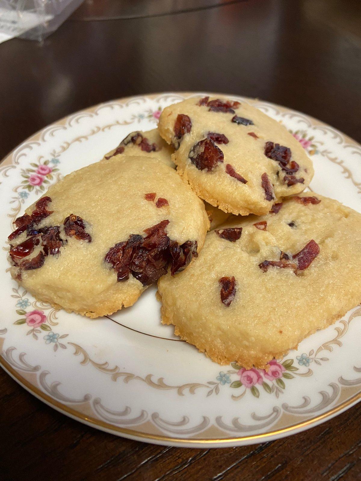 Image of Cranberry Shortbread -1 dozen