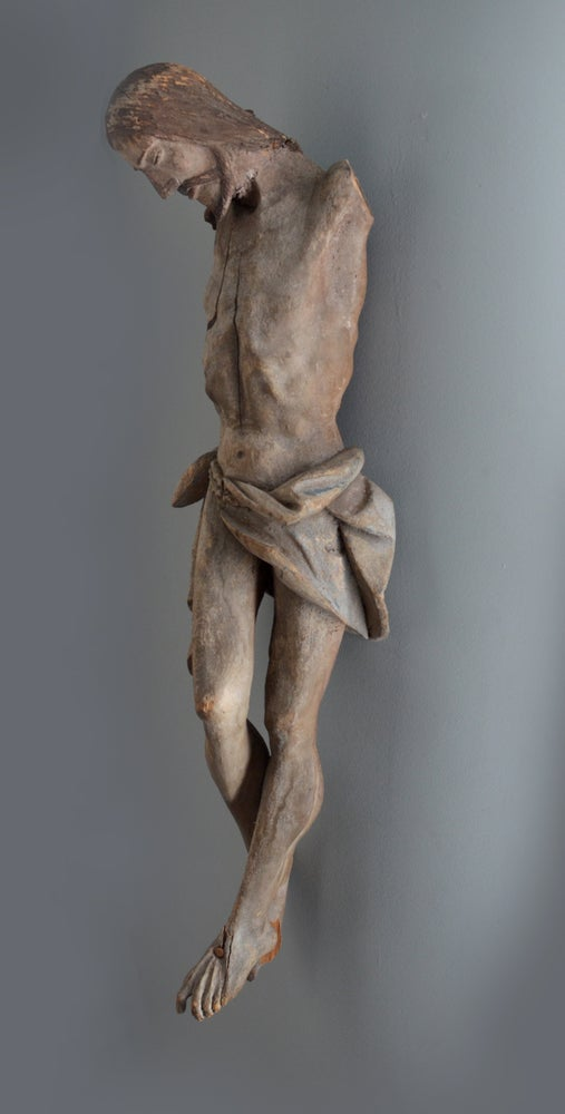 Image of A large Colonial Spanish-Portuguese wood corpus