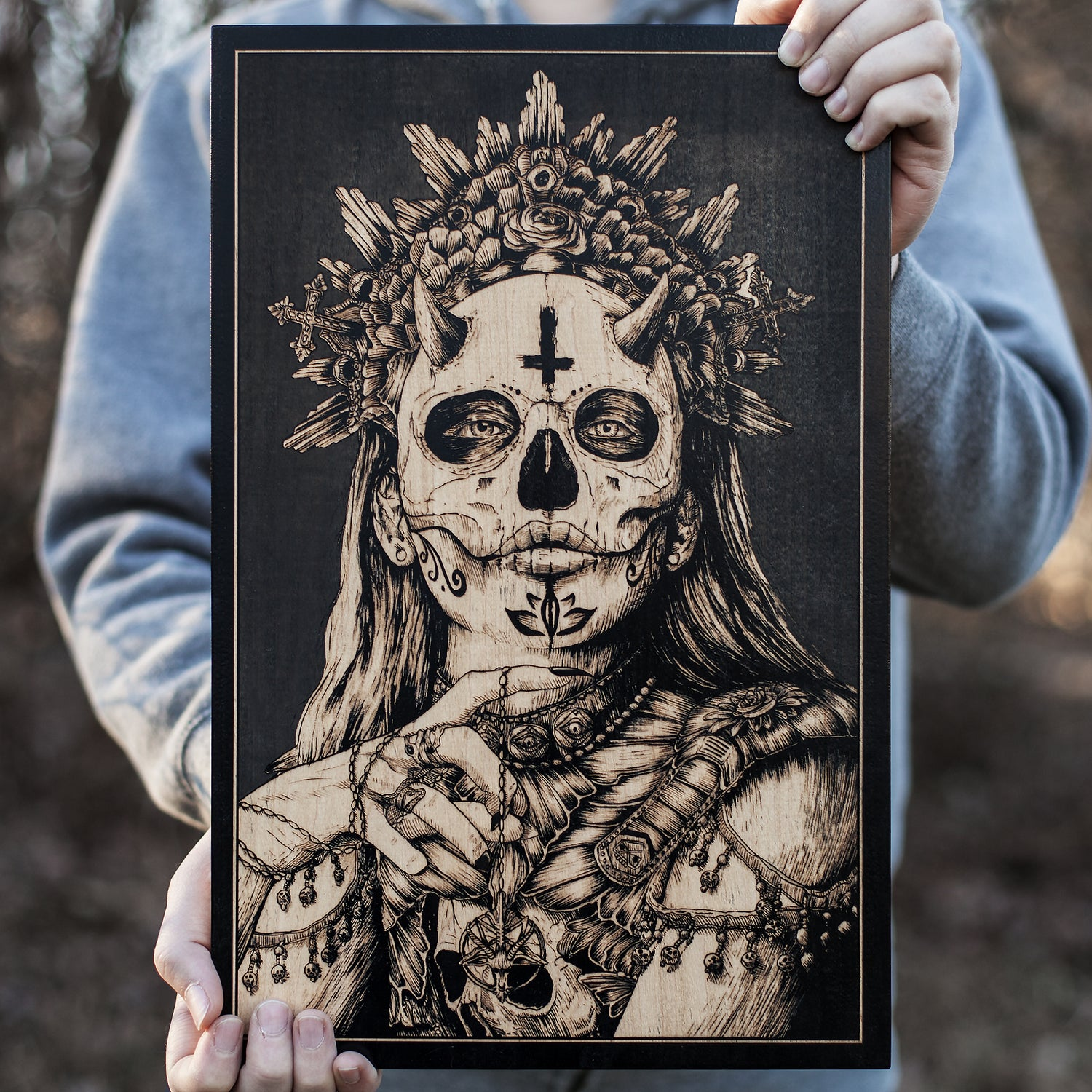 Image of The Lady of Death - XL Edition of 20