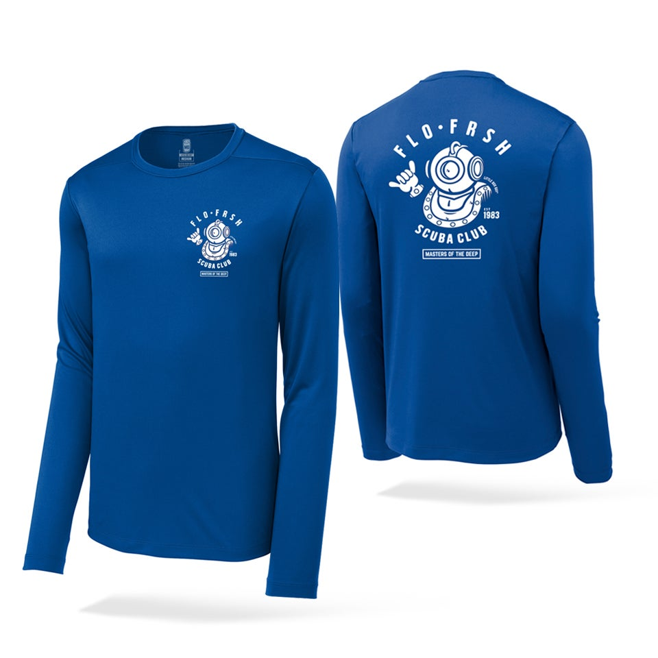 Image of FLO•FRSH Scuba Club Performance fit long sleeve