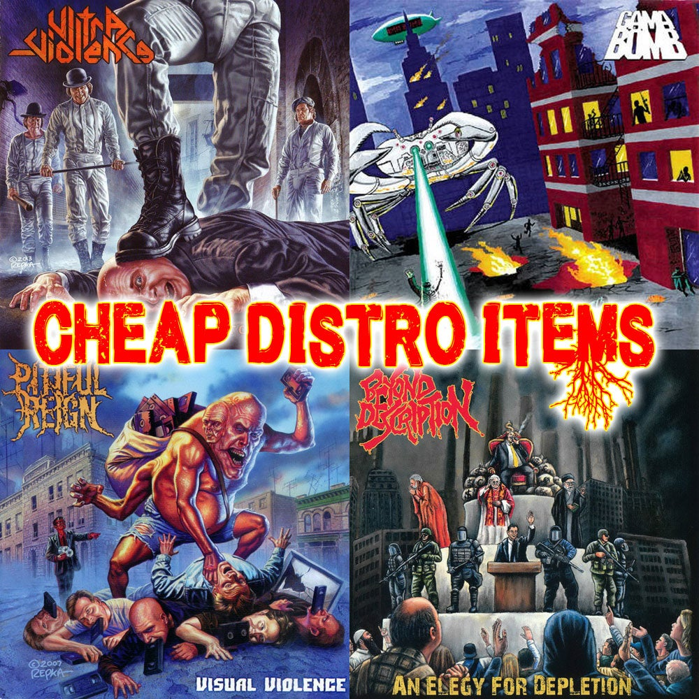 $5 CHEAP Distro CDs CLEARANCE SALE (Updated 04/16/21)