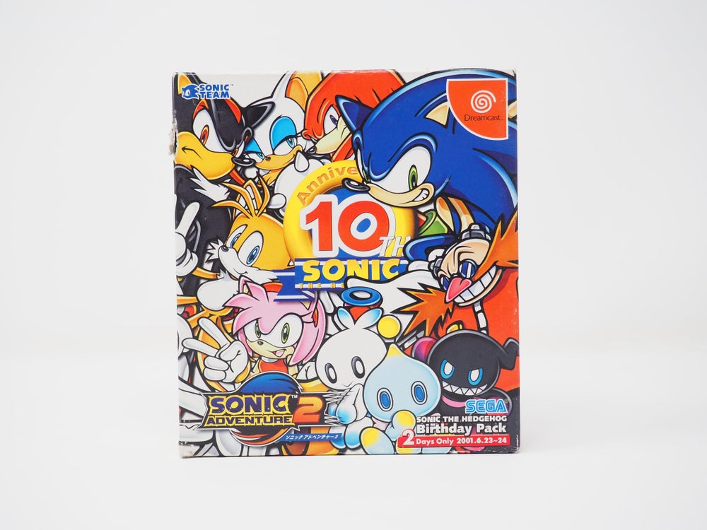 Image of Sonic Adventure 2 Birthday Pack