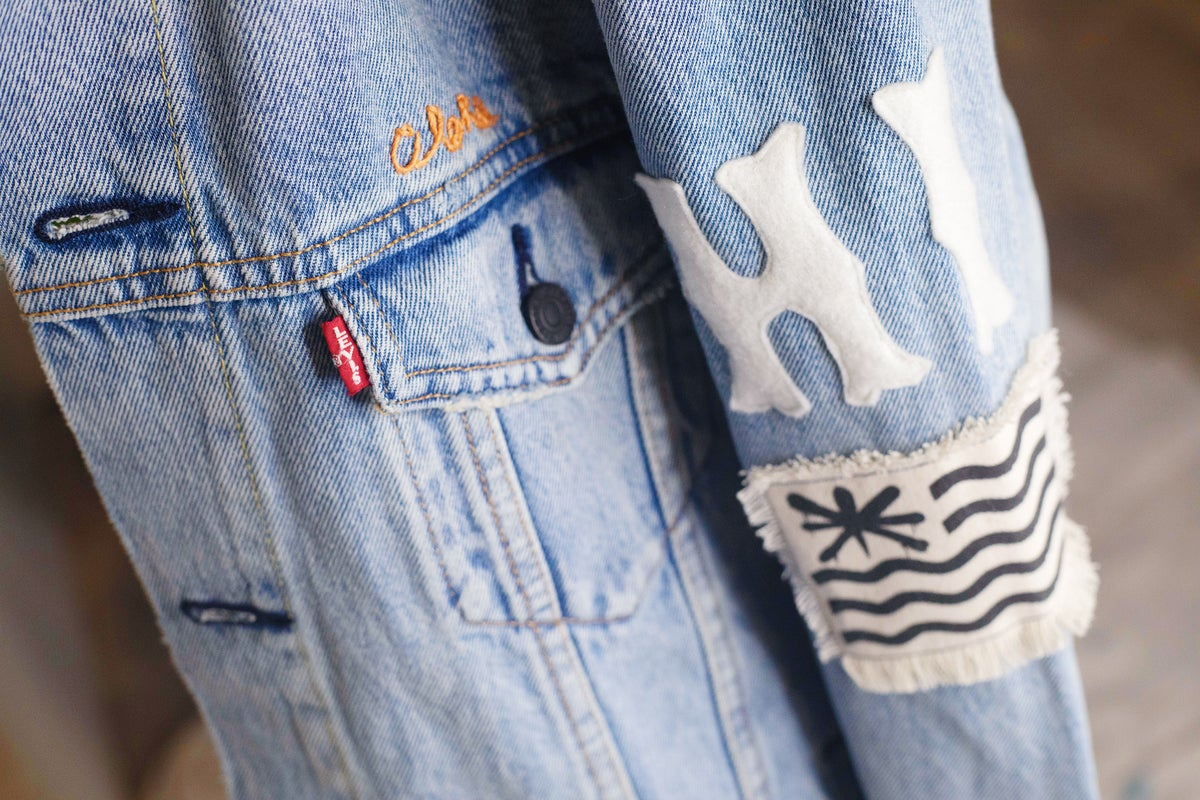 Image of Jack Soren x In4mation Denim Jacket No. 2/10.   Size S