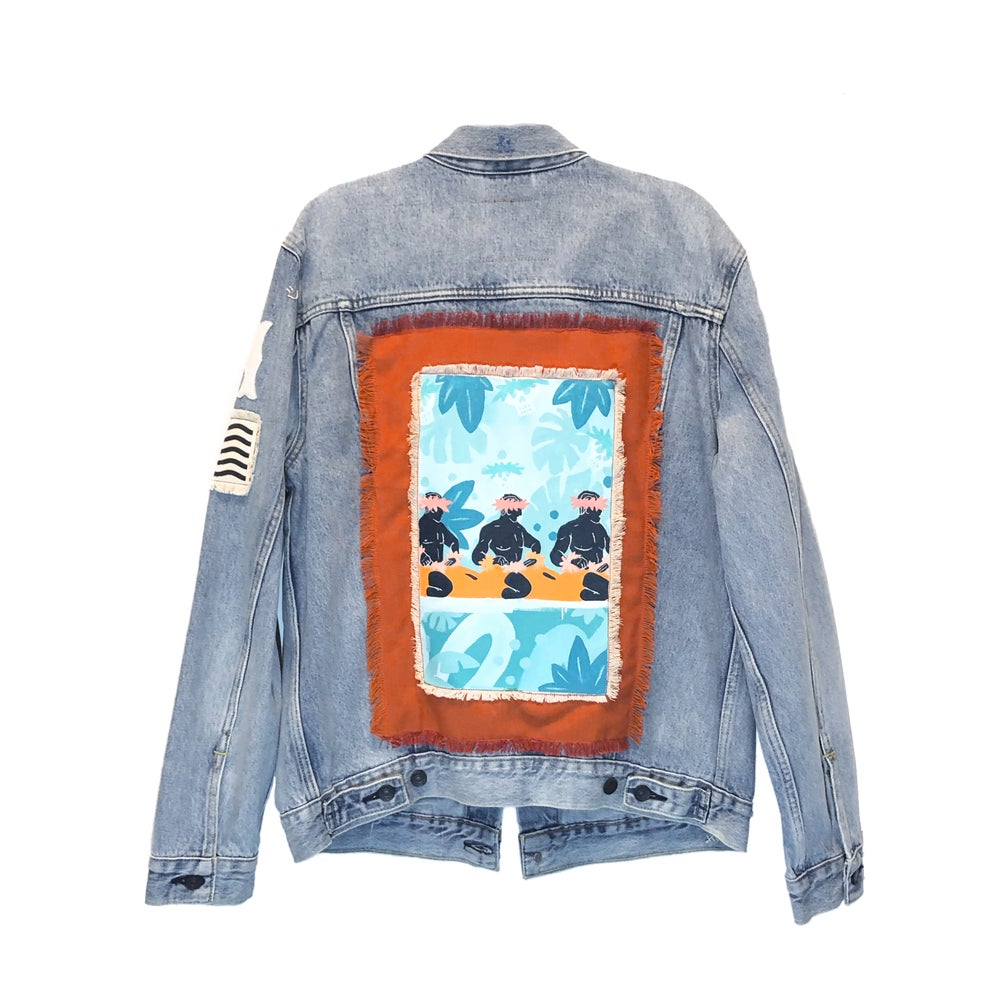 Image of Jack Soren x In4mation Denim Jacket No. 3/10.   Size L