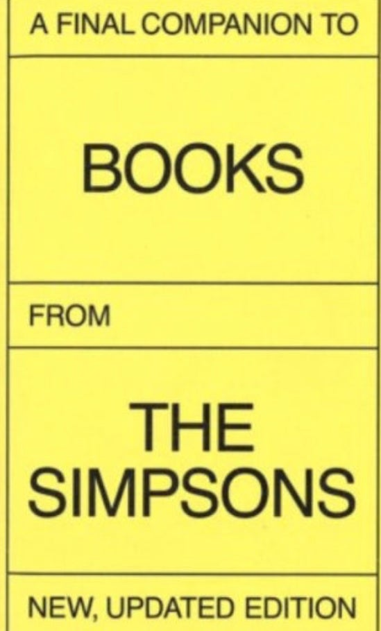 Image of (Olivier Lebrun)(オリヴィエ・ルブラン) (A final companion to books from The Simpsons)