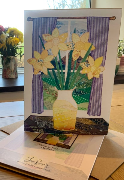 Image of Daffodil card
