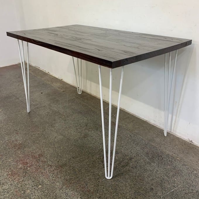 Image of ELMSWOOD HAIRPIN DINING TABLE/DESK