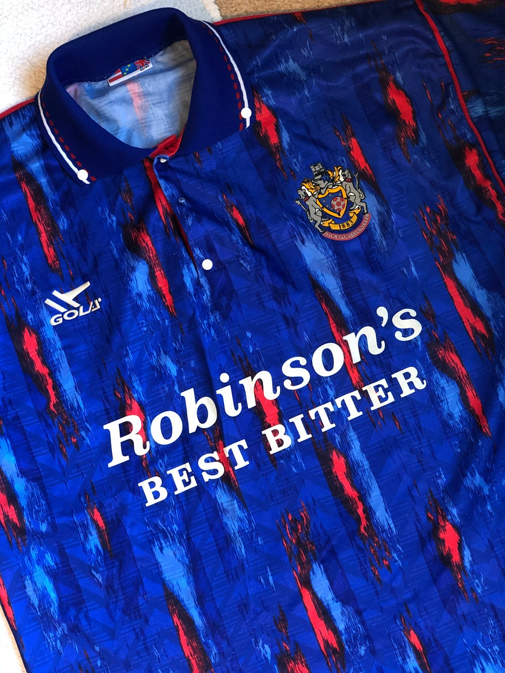 Image of Replica 1992/93 Gola Home Shirt